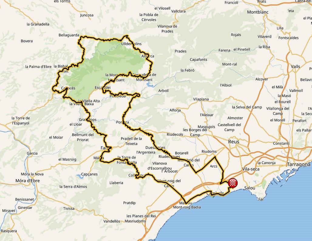 Gran Fondo Cambrils Park Spain Ciclyng Routes Iberrides Tours